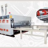 [RD-SB1500-3000-4] Semi-automatic chain feeding cardboard printer slotter machine made in China with 4 color ink flexo printing