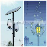 aluminium alloy 3.5 meters pole 8w/10w Garden Lights Led Solar Light Lawn Lights outdoor