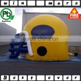 customized inflatable tent,large inflatable helmet tent for sale                                                                                                         Supplier's Choice