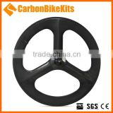 CarbonBikeKits 3SW Tubular or Clincher tri spoke rim singapore