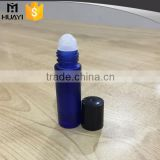 8ml 10ml wholesale bule frosted glass roll-on bottle with plastic roller ball                                                                         Quality Choice