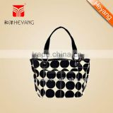 Fashion Sand dot tote design baby changing bag,wipe case