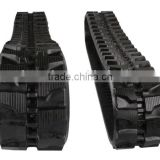 Supply high quality bobcat rubber track