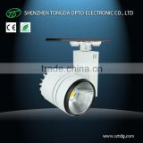 Showroom Lighting New design 20W 30w 40W led track lighting commercial lamp 3 phase 4 wire (TongDa)