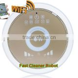 WiFi smartphone App Control cyclonic vacuum cleaner QQ6KDM with Air purifier,water tank,3350MAH Lithium battery