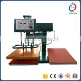 Swing away pneumatic double sided t shirt heat press machine                                                                         Quality Choice