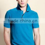jiangxi 60 cotton 40 polyester cheap custom logo wholesale short sleeve men uniform polo shirt