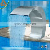 stainless steel blade swimming pool waterfall cascade                                                                                                         Supplier's Choice
