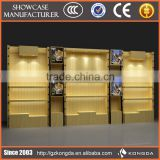 Spray painting wood furniture factory equipment for shoe store