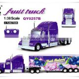 Popular hot! Beauty design 1:38 4 channel rc truck for sale