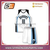 Stan Caleb hot sale comfortable basketball jersey fully sublimation comfortable quick dry basketball uniforms