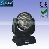 108*3W rgbw led stage light, led moving head stage washer light