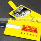 Slim ABS usb data card adapter, Business Promotion card type usb flash drive, novelties goods from china credit card size usb