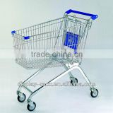 yiwu folding shopping trolley use in Supermarket HSX-1307