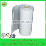vacuum thermoforming milky white food blister packaing HIPS film for cup lids