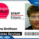 Customized Printing lastest design Plastic Sample Employee ID card cheap