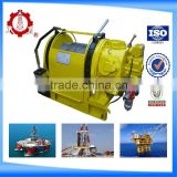 CCS certificated boat lift pneumatic winch air winch 8Ton