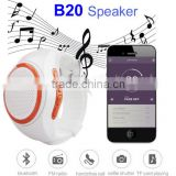 New Smart Watches B20 Sport Bluetooth Speaker Watch Style Portable Music Player with FM Radio Handsfree Mic Selfie Shutter Phone