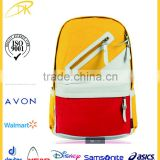 Fashion school bags 2015, wholesale brand canvas export school bags