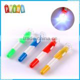 Wholesale plastic LED lighting ballpoint pens for promotional gifts, Advertising LED Light Ball Pen