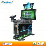 Funshare shooting arcade game machine laser shooting simulator video shooting equipment