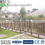 ECO friendly wpc fencing vinyle fences, composite railing,UV-protected,waterproof,environment friendly balcony railing designs