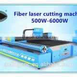 Metal sheet and pipe fiber laser cutting machine 3015 come with 500W-6000W fiber laser generator