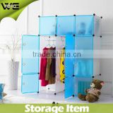 Portable Waterproof Transparency Furniture Closet,Kids Plastic Wardrobe Closet