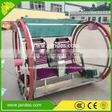 Entertainment electric happy swing car/electric balance wheel/amusement park battery leswing rides kid car for