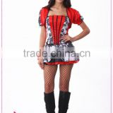 Wholesale adult princess costume sexy cosplay costumes flower print fancy dress