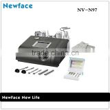 China Supplier NV-97 skin scrubber ultrasound galvanic	photon led skin rejuvenation	nova microdermabrasion machine