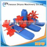 ZY Aquaculture 2hp 1.5kw Paddle Wheel Aerator Shrimp Farming Equipment (whatsapp:0086 15039114052)