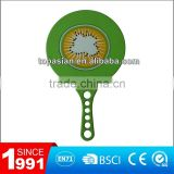 Plastic beach paddle ball racket set