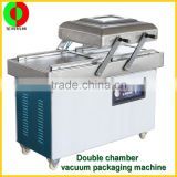 Multifunctional small table type singer and double vacuum packaging machine