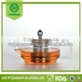 Borosilicate Double Wall Glass tea pot/double wall water glass
