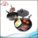NBRSC Kitchen Cooking Tool Breakfast Bakeware Non Stick Divided Frying Pan Set