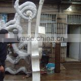 stainless steel sculpture for outdoor decoration