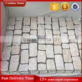 Granite cobblestone paver mats, mesh cobblestone pavers for sale