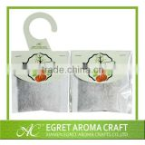 2015 New eco-friendly home air freshener or decor paper sachet hanger type wardrobe scented sachets