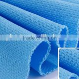 Factory OEM polyester coolpass dry fit micro mesh fabric textile function sports textile