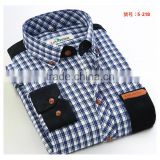 10 colours 7 sizes wholesale retail western model mens tartan plaid oxford shirts
