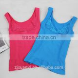 ladies Slimming Lift Body Shaper Belt Underwear lace Stretchy Shapewear Tops Vests Free sample
