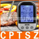 Programmable Wireless Remote Digital Thermometer & Probe, Meat, BBQ, Grill Tool