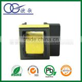 EE19 horizontal pin5+4 one side widen transformer 24V 12V 5V mini transformer 12v