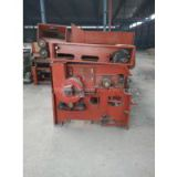 Single roller opening machine