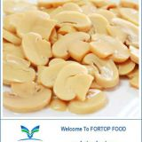 Factory Price Premium Drum Mushroom Slices in Brine