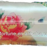 Hand-painted crepe silk satin pillow- chinese style