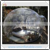 Promotion inflatable transparent tent, inflatable dome tent for outdoor, camping crystal dome from china supplier