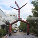 new design advertising tube air dancer inflatable costume with sale printing for event&festival decoration