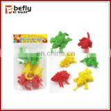 Cheap colorful plastic mini toys animals